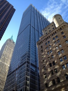 20 Pine, the Trump Building, Chase Manhattan Plaza and the Federal Reserve Bank of New York