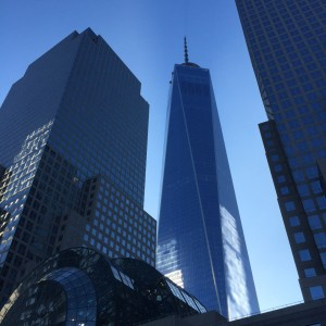 One World Trade behind the Winter Garden
