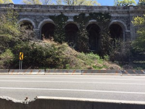 arches of Fort Tryon Park