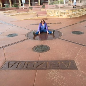 at the Four Corners Monument in September 2015